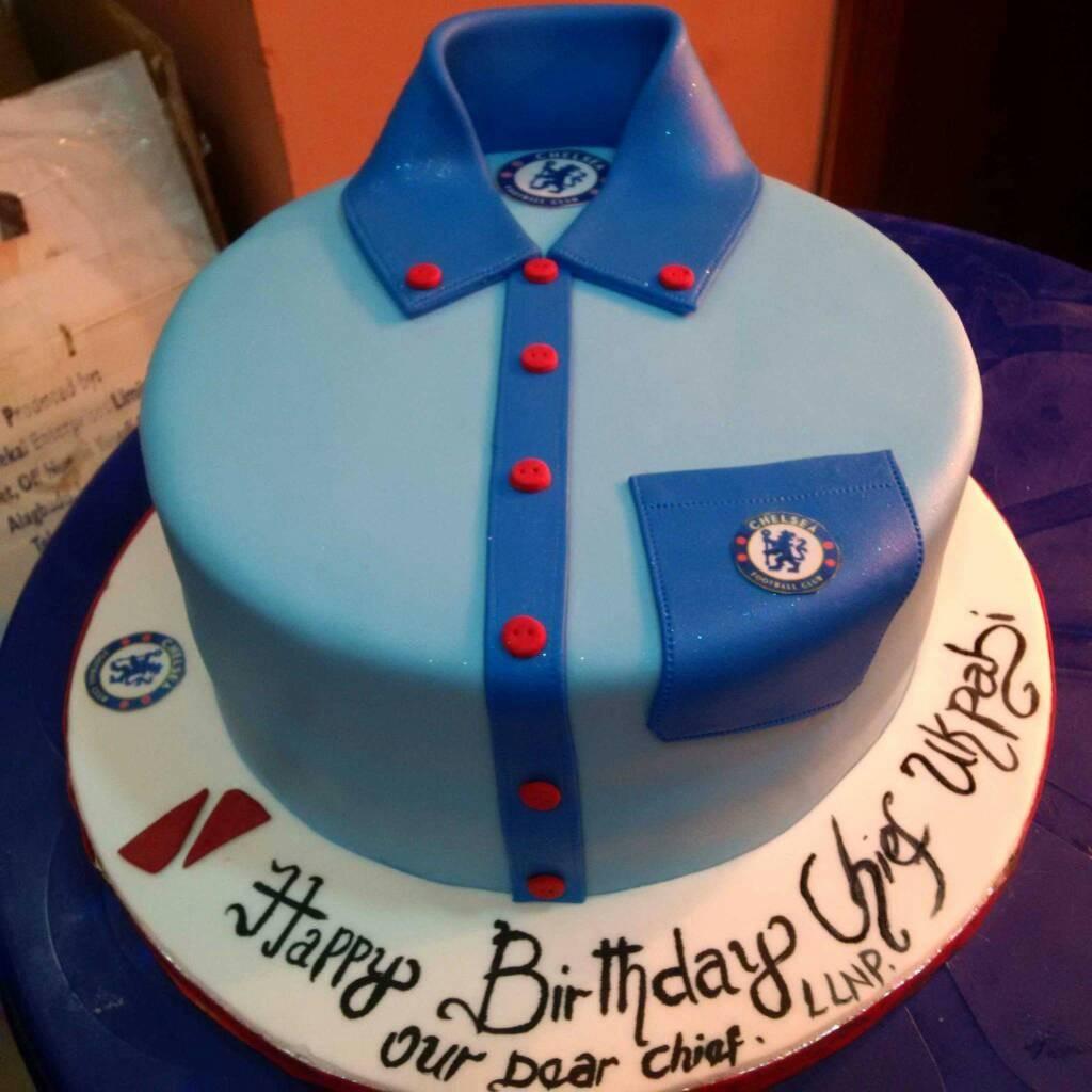 Admirable Chelsea Cake Splendid Cake Store Personalised Birthday Cards Veneteletsinfo