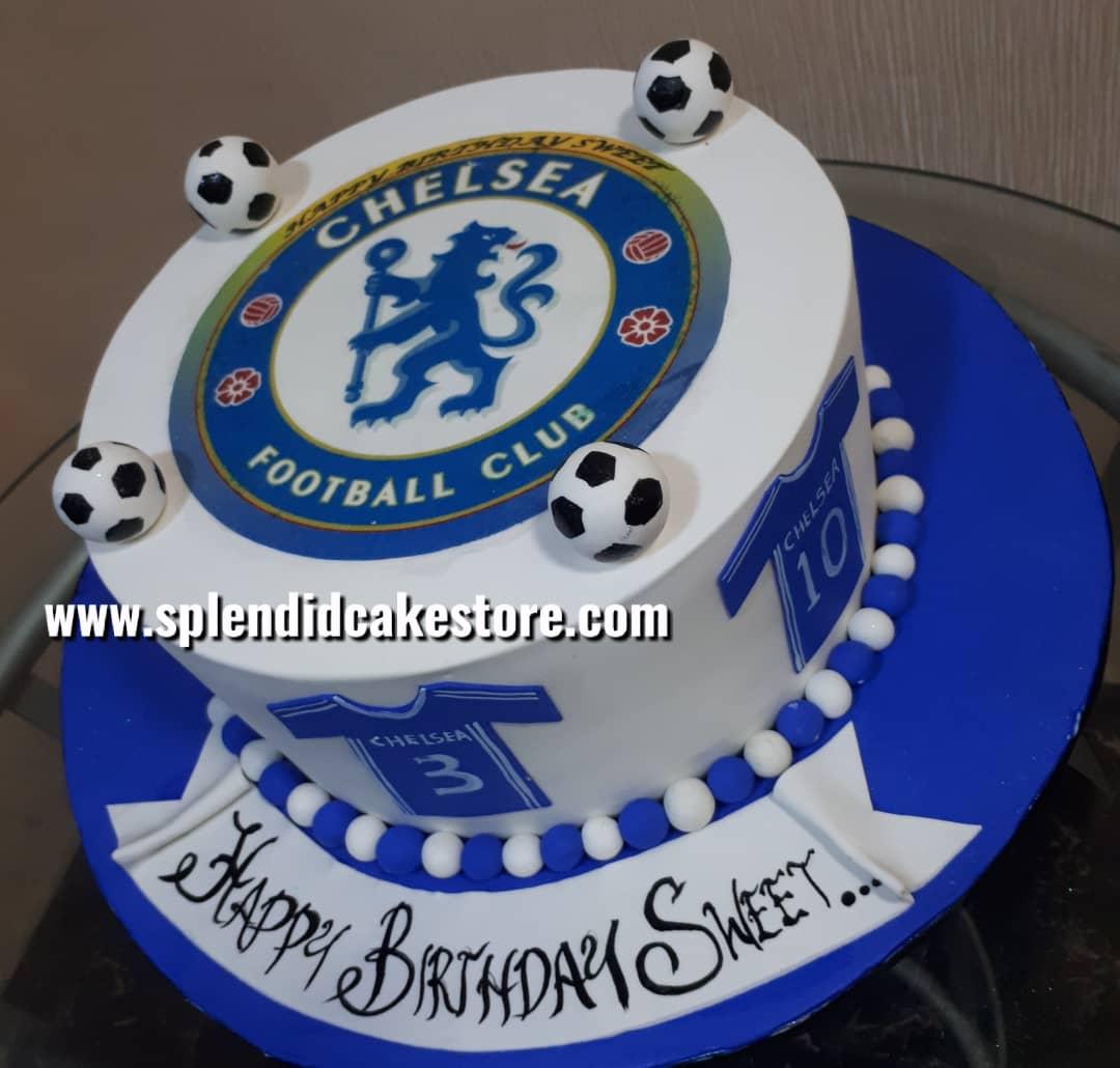 Fabulous Chelsea Special 2 Splendid Cake Store Personalised Birthday Cards Veneteletsinfo